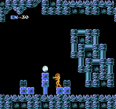 Metroid for NES, screenshot 3